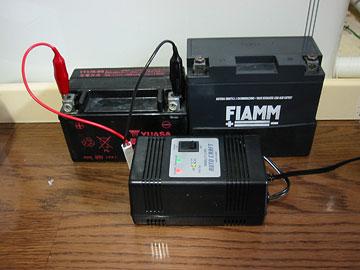 冬の間のバッテリー充電